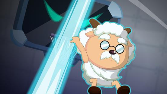 你们只知道今天是慢羊羊的生日,没想到他年轻那会儿这么燃